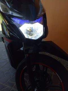 Lampu LED Honda Beat