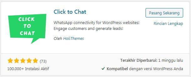 Plugin Chat WordPress