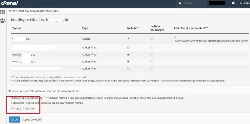 Install WordPress di Cpanel
