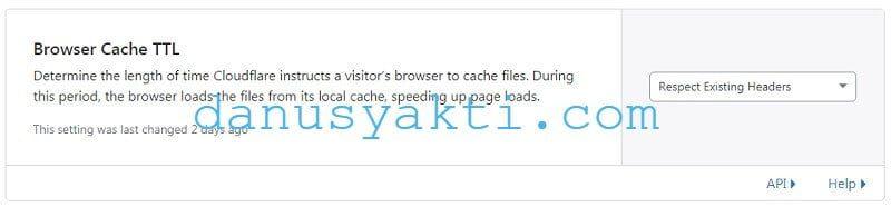 Cara Menggunakan Cloudflare Full Cache