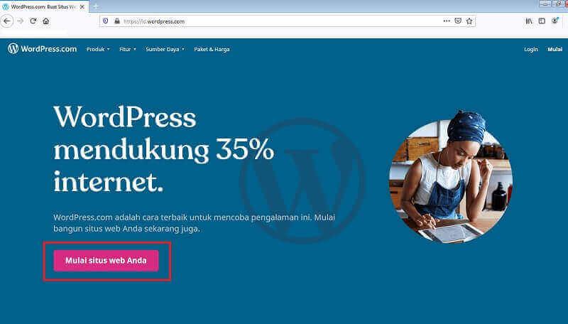 Cara Membuat Blog WordPress Gratis