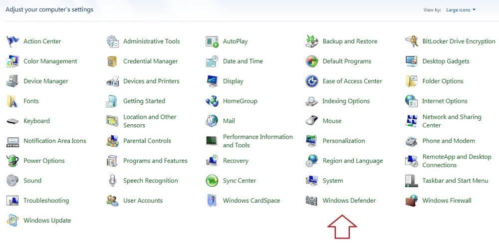 Cara Mematikan Windows Defender